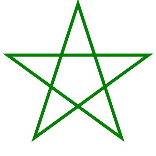El oro estaba escondido en una estrella de 5 puntas