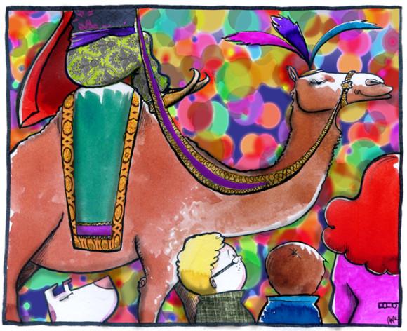 Una de camellos